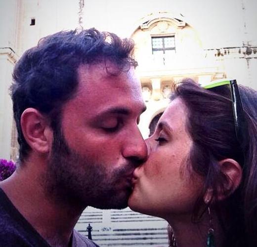 Sloppy kisser
