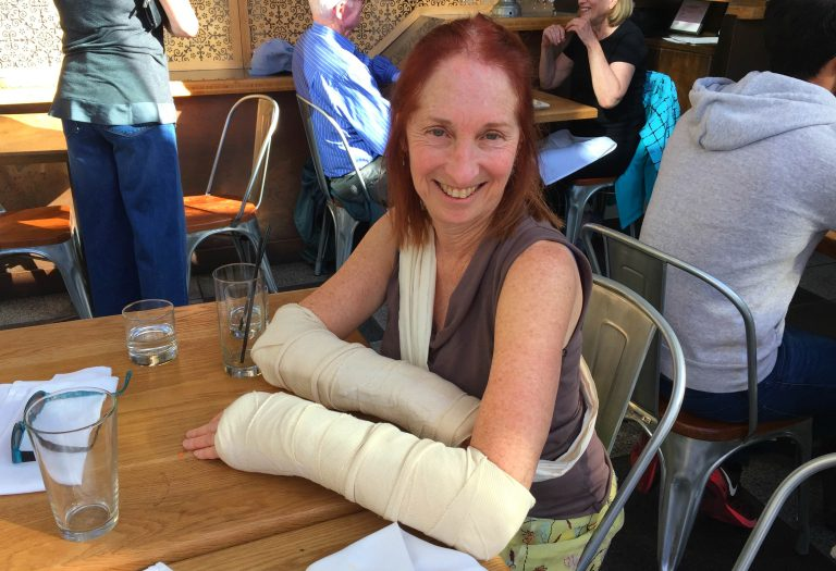 What I Learned When My Wife Broke Both Her Wrists - Psyched in San